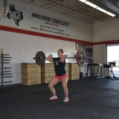 Hang Power Clean Catch
